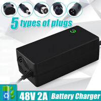 48V Lithium Battery Charger 54.6V Output For Electric Bicycle Motorcycle