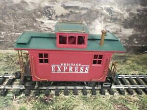 K Buddy L G Scale Heritage Express   Bobber  Caboose