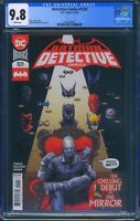 Detective Comics 1029 (DC) CGC 9.8 White Pages Peter Tomasi story