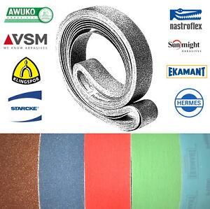50x2000 mm Schleifband nur Industrie-Hersteller AWUKO VSM Klingspor EKAMANT uvm.