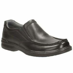 CLARKS Keeler Step Black Leather Slip On Men's  Shoes UK Size 8 1/2G