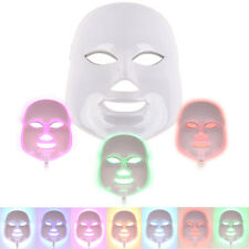 7 Color Light Photon LED Facial Mask For Skin Face AcneTherapy Beauty Machine DS