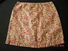 Adams Girls Floral Print Skirt Age 5 110cm ** Excellent Condition **