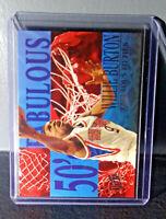 1995-96 Willie Burton Fleer Ultra Fabulous Fifties #2 Basketball Card