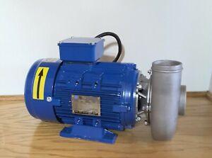MP Pumps 38170 Centrifugal Pump,2HP IE3 High Efficiency Motor Unit, Self Priming