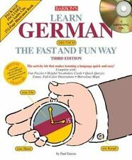 Learn German the Fast and Fun Way with Audio CDs