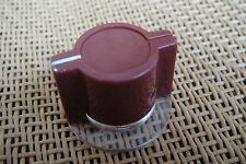 30x Burgundy Marconi API Type Skirted Pedal Knob For Neve 1073 1080 1081 Effects