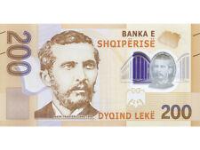 (PRE-ORDER) NEW Albania 200 lek 2017 Paper Money, Banknotes. UNC