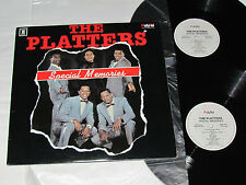 THE PLATTERS Special Memories 2-LP SET PolyTel Records Vinyl Canada NM/NM/VG
