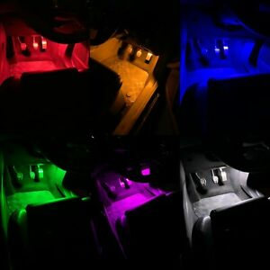 FORD FOCUS MK3 ST & RS INTERIOR FOOTWELL LED 48 SMD LIGHT PANEL UPGRADE