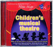 Children's Musical Theatre CD  kids songs from the musicals  *NEW & WRAPPED*