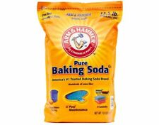 1x Arm & Hammer Baking Soda Food Grade Bulk Large Resealable Bag - 6.1 KG