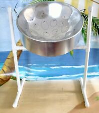 Steel Drum Package w Stand, Sticks, Great for professional musician or student.