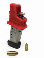 Universal 9mm Single-Stack Speed Loader - Quickie Loader by Hilljak, RED HOT