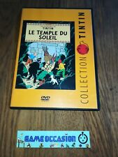 COLLECTION TINTIN THE TEMPLE THE SUN THE ADVENTURES DVD VF