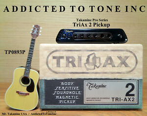 Takamine TriAx 2 Acoustic Guitar Pickup / Authorized Dealer / NEW with WARRANTY