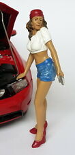 American Diorama 1/18 Figurines Mecanicienne - Katie 23862