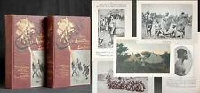 CASATI Zehn Jahre in Aequatoria 2 Bände 1891 Afrika Expedition Reisen