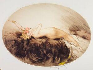 Louis Icart Venus Original Etching