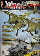 Wing masters nº 25 abril/mayo de aviación 2005 * modellbau * historial