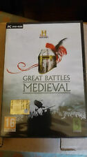 HISTORY CHANNEL GREAT BATTLES MEDIEVAL PC  EDIZIONE ITALIANA SIGILLATO