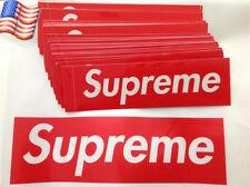 US Big Size Supreme Box Logo Red Sticker Vinyl Decal Skateboard Bumper Laptop