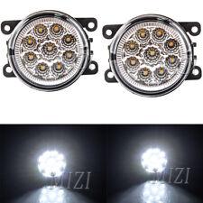 LED 2X Driving Lamp Fog Light For Peugeot 207 307 407 607 3008 SW CC VAN 2000-13