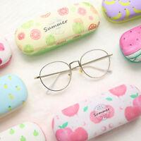 Eyeglass Sunglass Hard Case Storage Fruit Printing Protector Pouch Holder LD