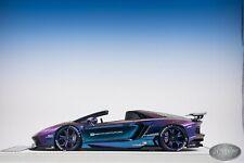 1/18 Davis & Giovanni LB Performance Lamborghini Aventador Roadster Chameleon