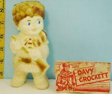 Vintage 1950's Davy Crockett Squeak Doll with Original Package Tag