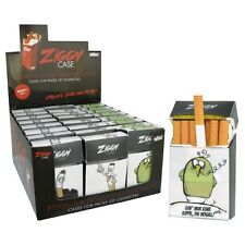 2 x Zigarettenbox Kunststoff  für 20  Standard Zigaretten
