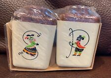 Vintage Steri-Lite Shaker Set Salt & Pepper Set New in Package Thanksgiving