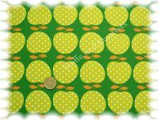 Apple Juice Hilco Popeline Baumwolle grün 50 cm Webware Apfelstoff