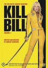 KILL BILL VOL. 1 DVD 2003 QUENTIN TARANTINO UMA THURMAN ACTION CULT MARTIAL ARTS