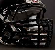 Riddell Revolution SPEED S2BDC-HT-LW S-Bar Football Helmet Facemask - BLACK
