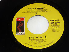 M.G.'s: Neckbone / Breezy  [Unplayed Copy]