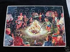 simplex vintage jig saw puzzle sperrholz legespiel