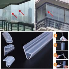 H-Shape Plástico Ducha Baño Pantalla Sello Tira Puerta de Vidrio Goma para 6-8mm