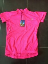 KARRIMOR CYCLING TOP JERSEY SHORT SLEEVED S/S STYLE 8 XS EXTRA SMALL NEW PINK