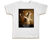 Titanic New Version T-Shirt - Cats Kittens Mens Womens Funny Birthday Present
