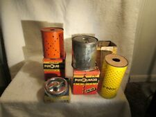 VINTAGE OIL FILTERs (4)  CHRYSLER DESOTO DODGE PLYMOUTH OIL CAN COLLECTION