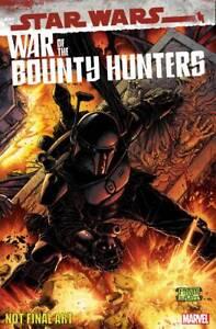 (2021) Star Wars Bounty Hunters Alpha #1 McNiven Black Armor 1:50 Variant Cover