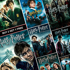 Harry Potter Movie Posters Collection A4 A3 HD Prints Snape Voldemort Hogwarts