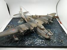 RAF Suntherland Bomber Docked Diorama Pro Built 1/72