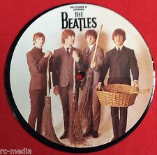 "BEATLES -We Can Work It Out/Day Tripper- Mispress UK 7"" Picture Disc /Rare Vinyl"