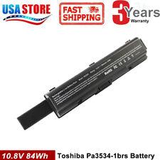 PA3534U-1BRS Battery For TOSHIBA Satellite L455 L500 L505 L550 L555 M200 9Cell