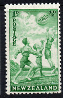 New Zealand 1d + 1/2d Health Stamp c1940 Mounted Mint Hinged (3477)