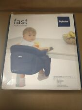 Inglesina Fast Table Chair Hook-On Portable Travel High Chair Navy No Tray NOB