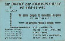 BUVARD 109276 DOCKS DU COMBUSTIBLE BAR LE DUC