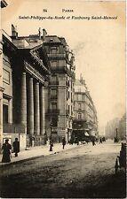 CPA PARIS 8e Saint-Philippe-du-Roule et Faubourg Saint-Honore (258910)